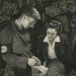 Peace Service Units pamphlet (held at Friends House), 1940s